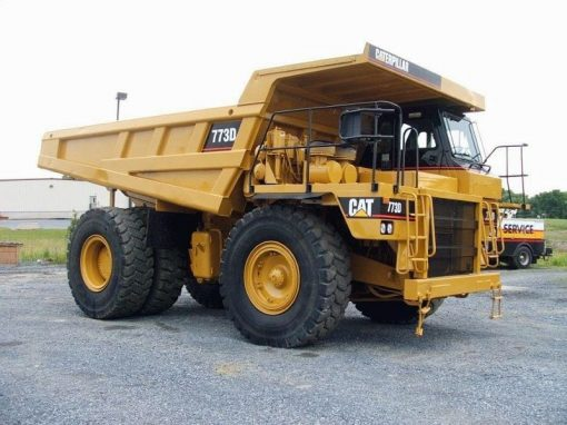 Preowned CAT 773D Haul Trucks